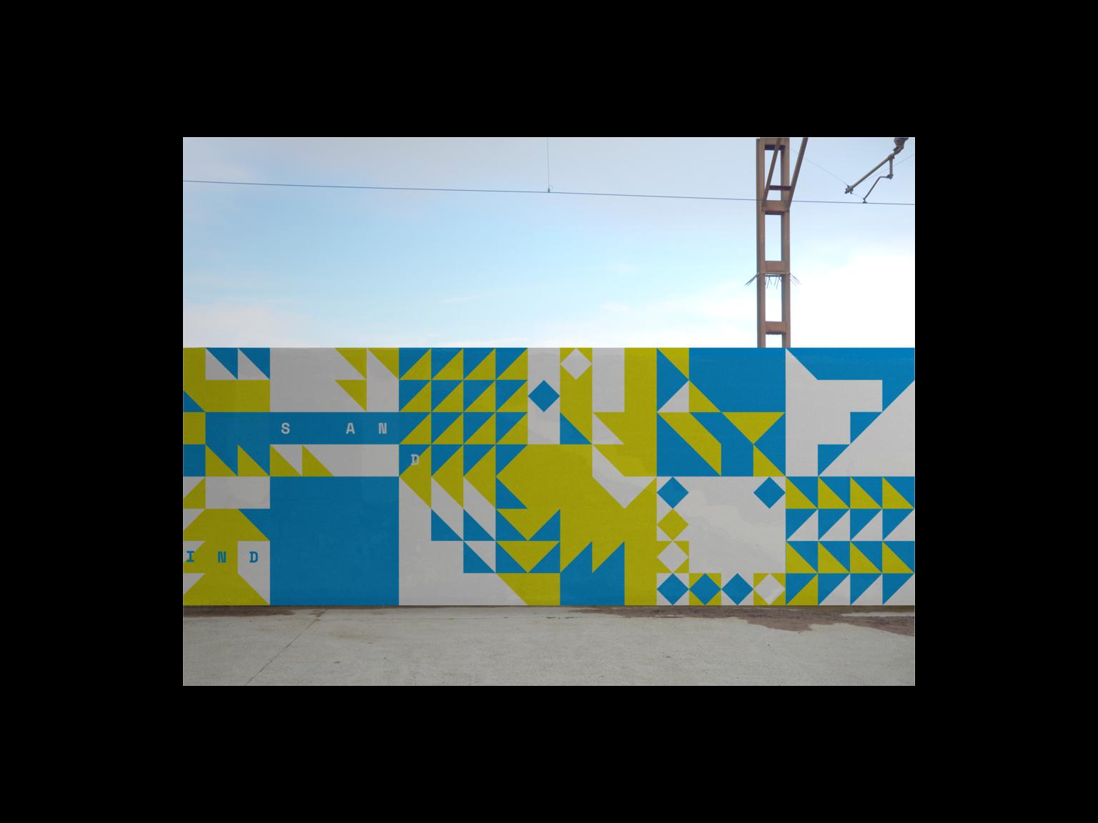 Mural, mockup