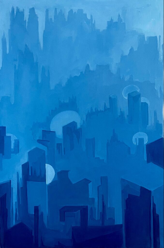 Blue Towers
