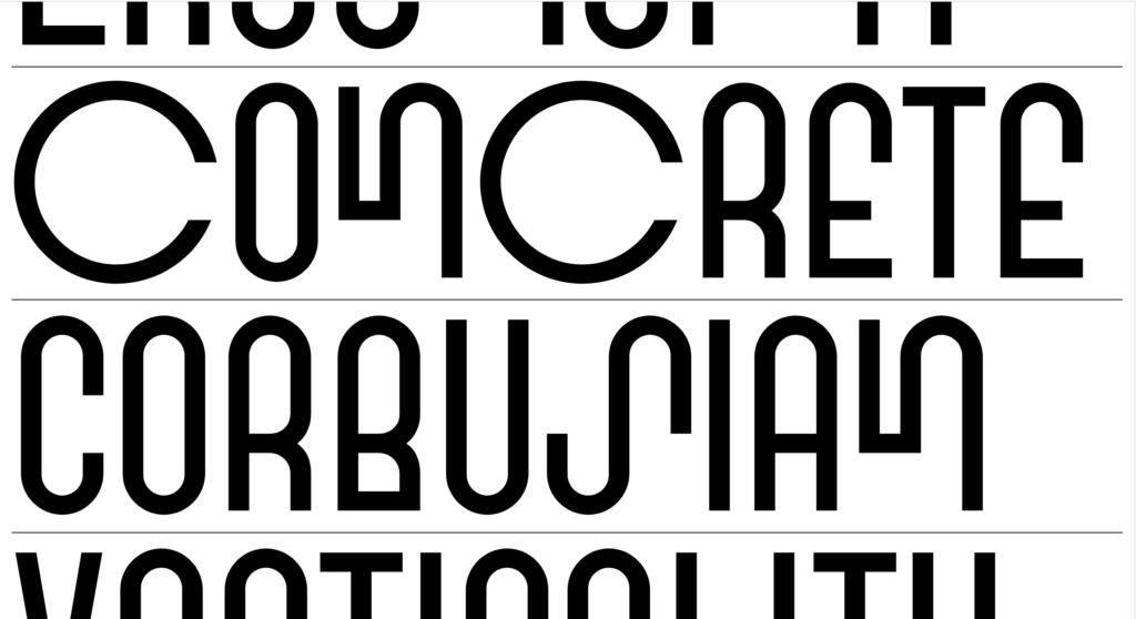 Interactive Type Specimen