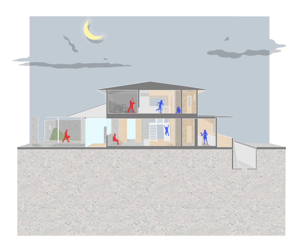 Part 1: Playhouse in the day, danger zone in the night