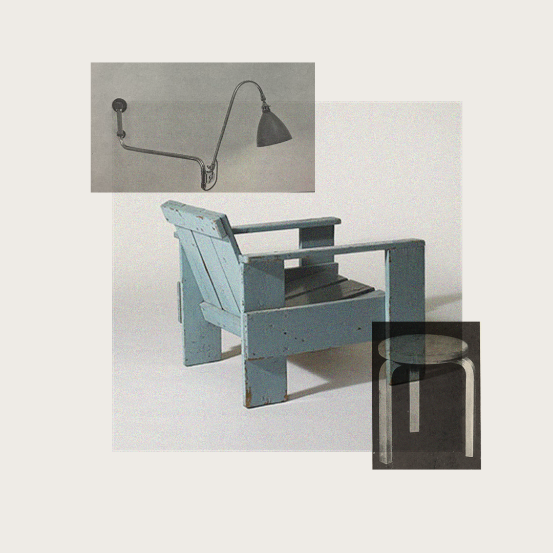Interior visual for Crate Chair