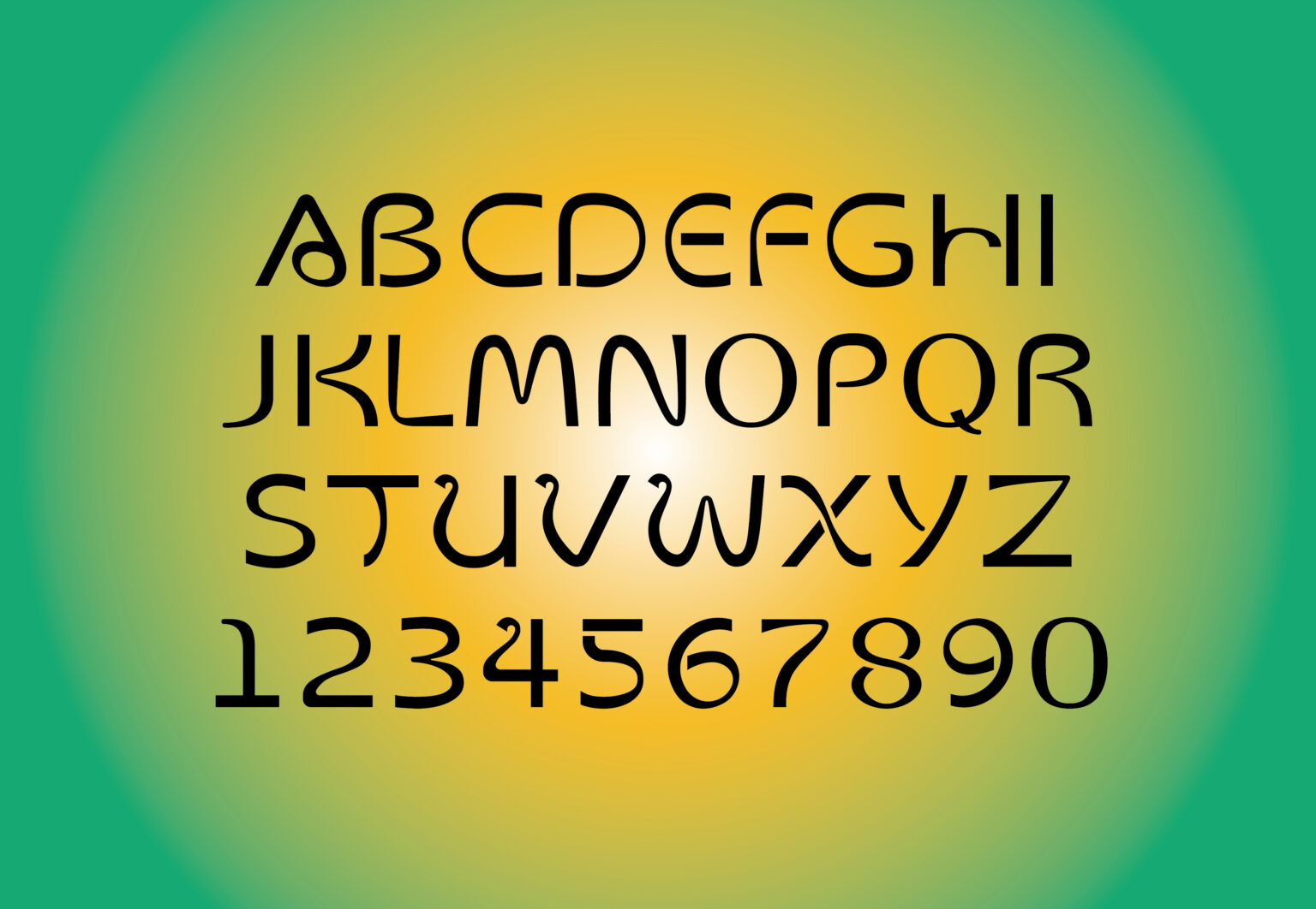 'Weird dream' is a modular typeface specifically designed for BAKU.