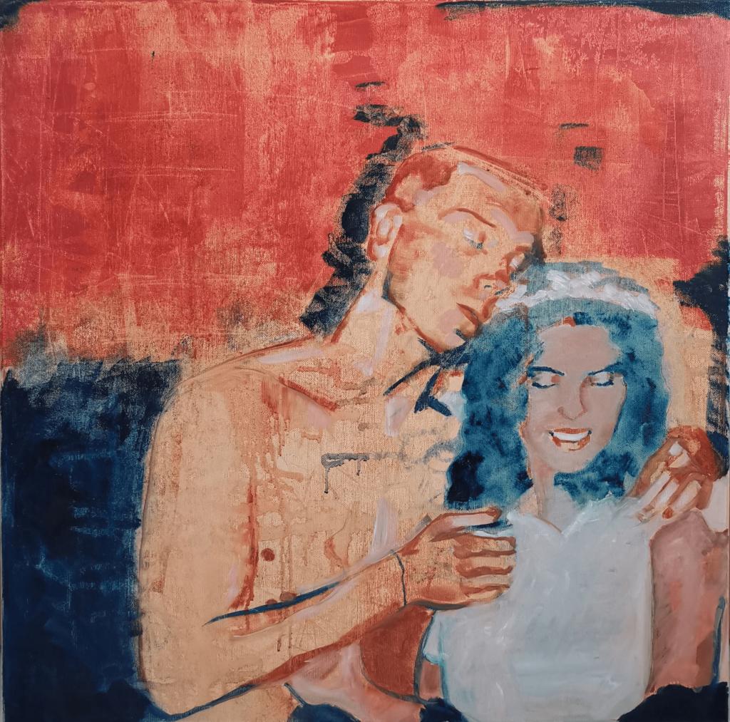 60 x 60 cm oil on canvas 2021
