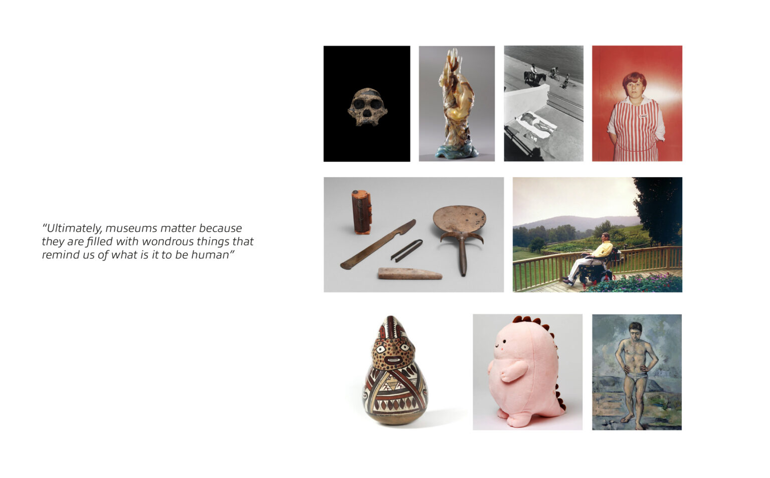 quote and images selected from British museum
